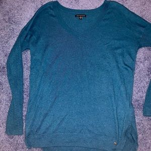 American Eagle Long-Sleeve V-Neck Sweater